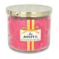 Bougie parfumée 3 mèches BE JOYFUL Bath and Body Works