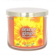 Bougie 3 mèches ORANGE GINGER Bath and Body Works