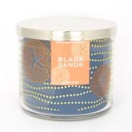 Bougie 3 mèches BLACK SANDS Bath and Body Works