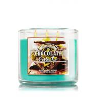 Bougie parfumée 3 mèches CHOCOLATE PISTACHIO Bath & Body Works candle US USA