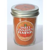 Bougie Mason Jar SWEET CINNAMON PUMPKIN  Bath and Body Works halloween US USA
