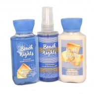 Trio Voyage BEACH NIGHTS - SUMMER MARSHMALLOW Bath and Body Works