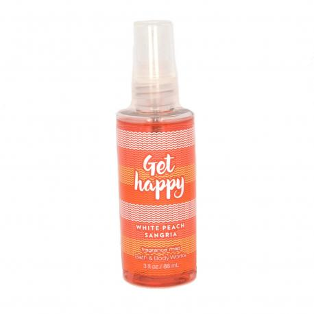 Mini Brume parfumée GET HAPPY - WHITE PEACH SANGRIA Bath and Body Works
