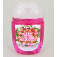 Gel antibactérien ICED WHITE POMEGRANATE Bath and Body Works Us pocketbac