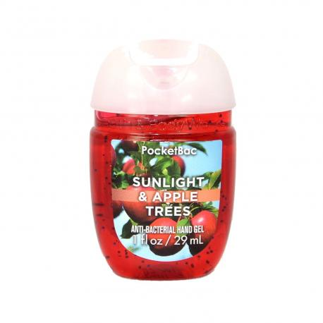 Gel antibactérien SUNLIGHT AND APPLE TREES Bath and Body Works Us pocketbac