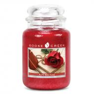 Bougie parfumée Grande Jarre 2 mèches PURE RED ROSE Goose Creek Candle US USA