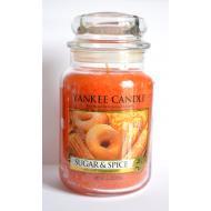 Grande Jarre SUGAR & SPICE Yankee Candle large US USA