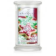 Grande Jarre 2 mèches HOLIDAY COOKIES Kringle Candle Bougie parfumée US