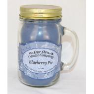 Bougie Mason Jar BLUEBERRY PIE Our Own Candle Company