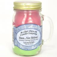 Bougie parfumée Mason Jar NICE MELONS Our Own Candle Company US USA