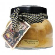 Bougie parfumée Mama Jar PECAN BELGIUM WAFFLES A Cheerful Giver candle US USA