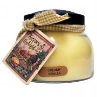 Bougie parfumée Mama Jar CREAMY VANILLA A  Cheerful Giver candle US USA