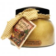 Bougie parfumée Mama Jar CARAMELIZED CREME BRULEE A Cheerful Giver candle US USA