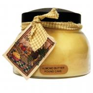 Bougie parfumée Mama Jar ALMOND BUTTER POUND CAKE A Cheerful Giver candle US USA