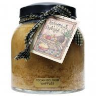 Papa Jar PECAN BELGIUM WAFFLES A Cheerful Giver