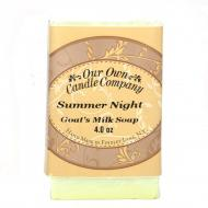 Savon parfumé SUMMER NIGHT Our Own Candle Company Soap US USA