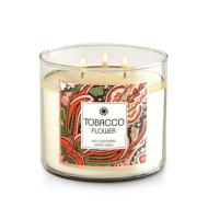 Bougie parfumée 3 mèches TOBACCO FLOWER Bath and Body Works candle US USA