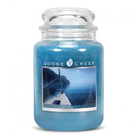 Grande Jarre 2 mèches LOST AT SEA Goose Creek Candle