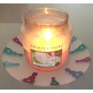 Assiette LAPINS Yankee Candle