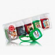 Gift set gels antibactériens SANTA'S FAVORITES Bath and Body Works pocketbac holder US USA
