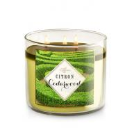 Bougie 3 mèches CITRON CEDARWOOD Bath and Body Works
