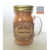 Mason Jar CARAMEL PECAN Our Own Candle Company