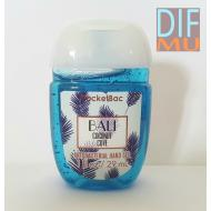 Gel antibactérien BALI COCONUT COVE Bath and Body Works pocketbac US USA
