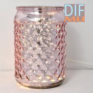 Brûleur de cire parfumée électrique MERCURY ROSE PINK wax warmer