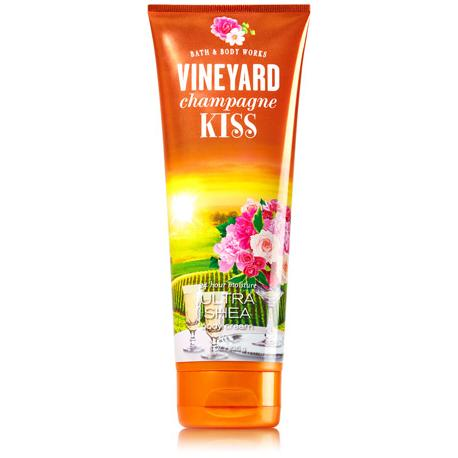 Crème pour le corps VINEYARD CHAMPAGNE KISS Bath and Body Works Us Body Cream