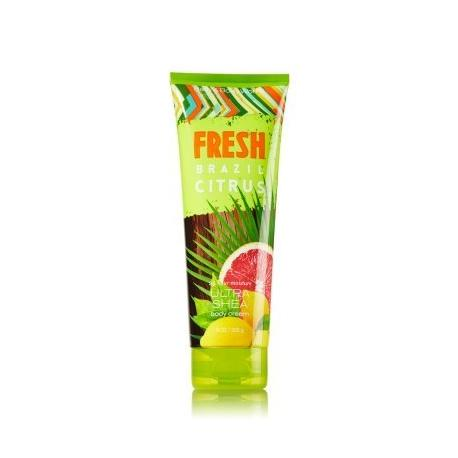 Crème pour le corps FRESH BRAZIL CITRUS Bath and Body Works US Body Cream