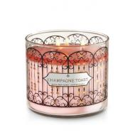 Bougie parfumée 3 mèches CHAMPAGNE TOAST Bath and Body Works candle US USA