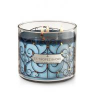 Bougie parfumée 3 mèches ST TROPEZ SHORE Bath and Body Works candle US USA