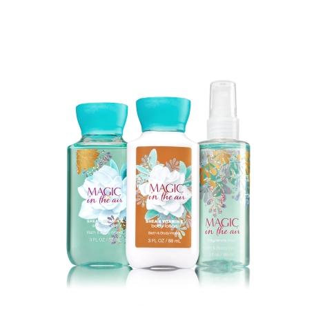 Trio Voyage MAGIC IN THE AIR Bath and Body Works