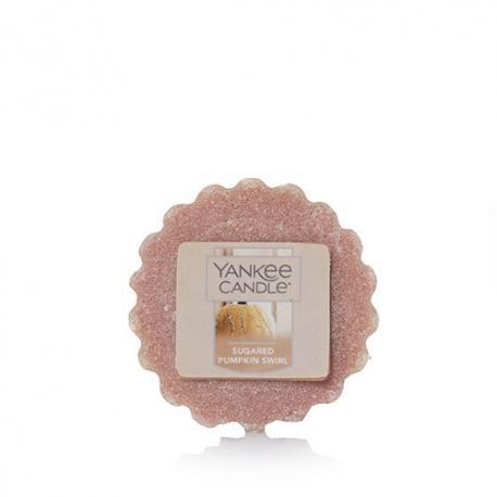 Tartelette SUGARED PUMPKIN SWIRL Yankee Candle wax tart US USA Halloween